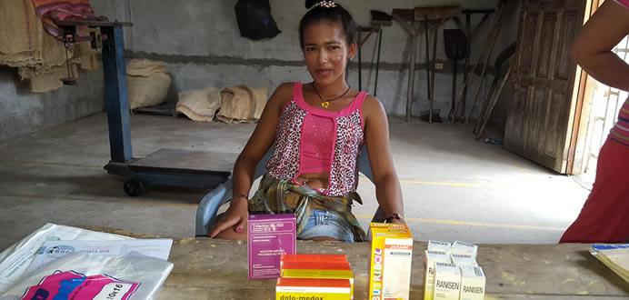 """En el """"Sitio 10 de Agosto"""" centro de acopio de Honorato Vasquez en Ayacucho se realizaron dos nuevas Jornadas médicas, sábado 20 y el domingo 21 de agosto 2016"""